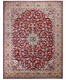 "Sarouk 625428 Red 9'6"" x 12'10"" Area Rug"