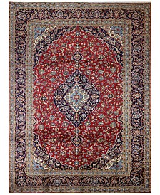 "BB Rugs Kashan 617046 Red 9'10"" x 13'3"" Area Rug"