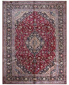 "Kashmar 617020 Red 9'9"" x 12'8"" Area Rug"