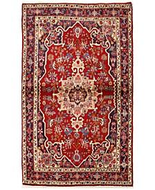 "Bijar 621331 Red 3'7"" x 5'10"" Area Rug"