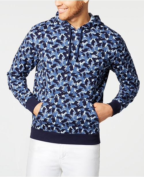 Lacoste Men's Printed Hoodie, Created for Macy's