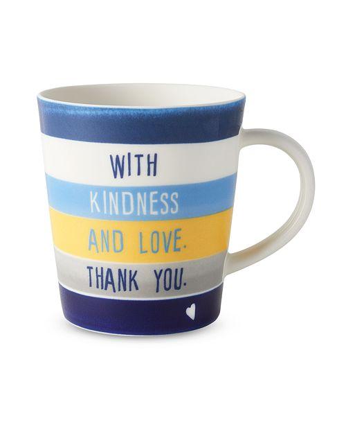 ED Ellen Degeneres Crafted by Royal Doulton Friend Stripes Mug