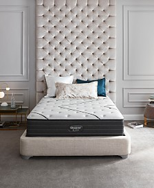 "Beautyrest Black L-Class 14.25"" Medium Firm Mattress Set- Queen Split"