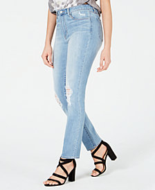 Articles of Society Rene Ripped High-Rise Jeans