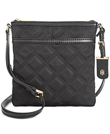 Tommy Hilfiger Julia Triple Quilted Nylon Crossbody