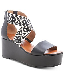 Lucky Brand Women's Gwindolin Wedge Sandals