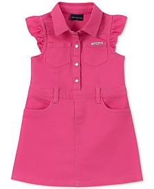 Calvin Klein Baby Girls Denim Dress