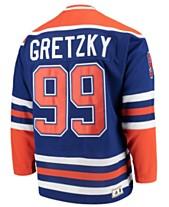44d17d51b64 Mitchell   Ness Men s Wayne Gretzky Edmonton Oilers Heroes of Hockey Classic  Jersey