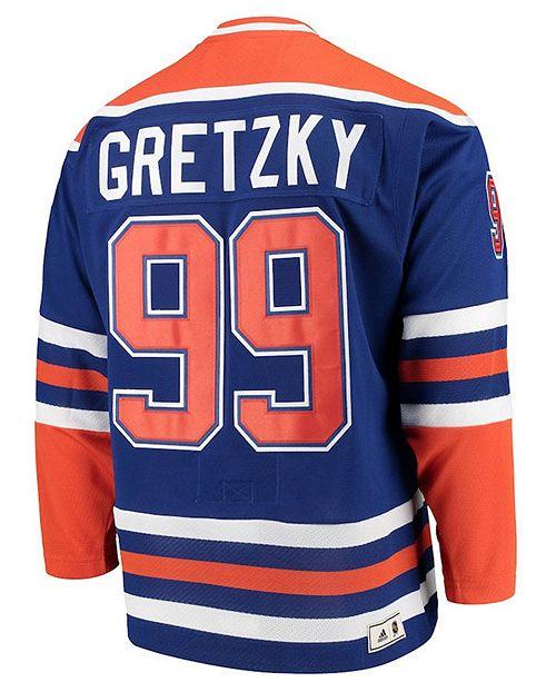 half off a4a8b 6d76b Men's Wayne Gretzky Edmonton Oilers Heroes of Hockey Classic Jersey