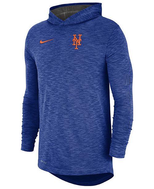 newest 260dd e9987 Men's New York Mets Dry Slub Hooded T-Shirt