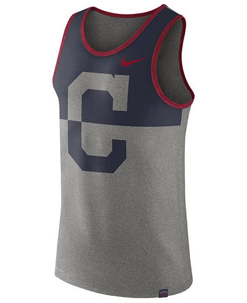 Nike Men's Cleveland Indians Dry Tank