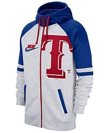 Nike Men's Texas Rangers Walkoff Full-Zip Hoodie