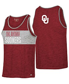 Champion Men's Oklahoma Sooners Colorblocked Tank