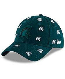 New Era Women's Michigan State Spartans Logo Scatter Cap