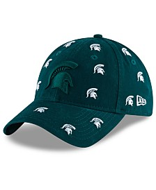 New Era Women's Michigan State Spartans Logo Scatter Cap