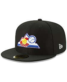 New Era Boys' Colorado Rockies Batting Practice 59FIFTY Cap