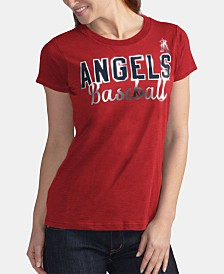 G-III Sports Women's Los Angeles Angels Homeplate T-Shirt