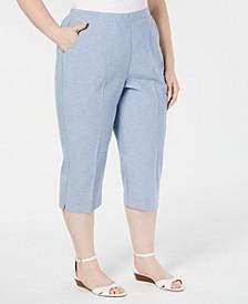 Plus Size Monterey Cropped Pants