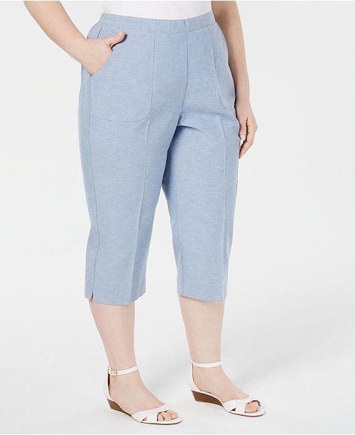 Sizes taille plus court Pantalon MontereyCommentaires Dunner Alfred Capris Blue j354AcRLq