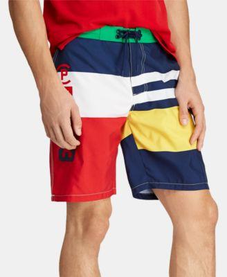 Polo Ralph Lauren Men's Swim Trunks Swimming Short Oasis Green  2XB Lobster  New Men's Clothing