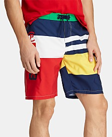 Polo Ralph Lauren Men's Big & Tall CP-93 Swim Trunks