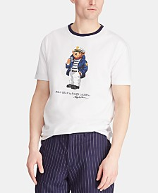 Polo Ralph Lauren Men's Big & Tall Classic-Fit Boat Bear T-Shirt