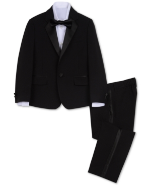 Vintage Style Children's Clothing: Girls, Boys, Baby, Toddler Nautica Little Boys Tuxedo Suit Set $89.50 AT vintagedancer.com