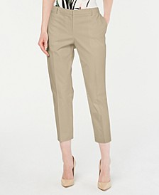 Cropped Straight-Leg Pants, Created for Macy's