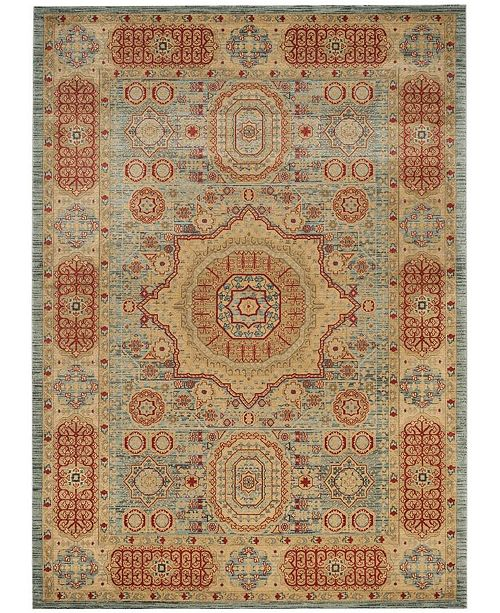 Safavieh Mahal Navy and Red 9' x 12' Area Rug