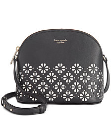 kate spade new york Sylvia Perforated Leather Crossbody