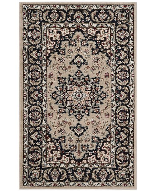 "Safavieh Lyndhurst Cream and Anthracite 3'3"" x 5'3"" Area Rug"