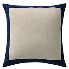 """Waterford Asher 18"""" X 18"""" Square Collection Decorative Pillow"""
