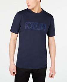 HUGO Men's Dicagolino Reverse Logo Graphic T-Shirt