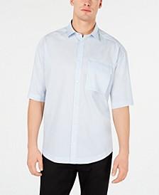 HUGO Men's Oversized Woven Shirt