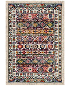"""Madison Cream and Pink 2'2"""" x 8' Runner Area Rug"""