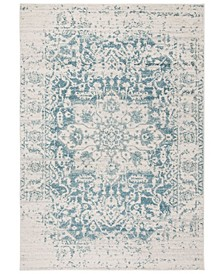 Madison Teal and Ivory 9' x 12' Area Rug
