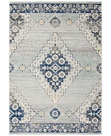 Madison Gray and Cream 4' x 6' Area Rug
