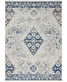 Madison Gray and Cream 3' x 5' Area Rug