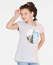 Epic Threads Big Girls Colorblocked Graphic-Print T-Shirt, Created for Macy's