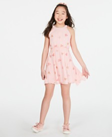 Epic Threads Big Girls Embroidered Butterfly Dress, Created for Macy's