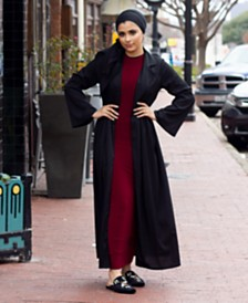 Verona Collection Ribbed Maxi Cardigan