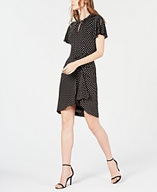 Draped Jersey Dress