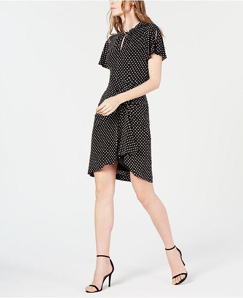 Nanette Lepore Draped Jersey Dress