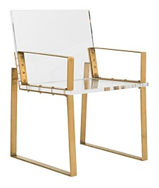 Langston Acrylic Arm Chair, Quick Ship