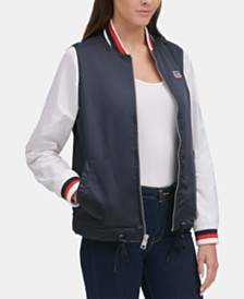 Levi's® Colorblocked Bomber Jacket