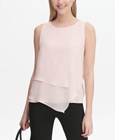 3f2d0b6f8 Calvin Klein Womens Tops - Macy s