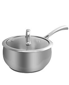 Derrick 2 Qt Sauce Pan with Lid, Apple Shape