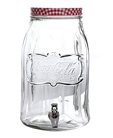 Country Classic 2 Gallon Mason Beverage Dispenser