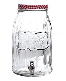 Coca-Cola Country Classic 2 Gallon Mason Beverage Dispenser