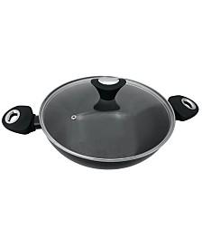 Oster Cuisine Allston 6 Quart Aluminum Everyday Pan with Lid
